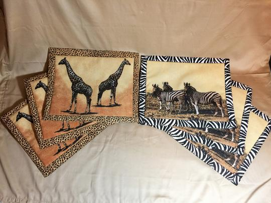Other Serengeti Reversible Placemats; Set of 6 [ SisterSoul Closet ]