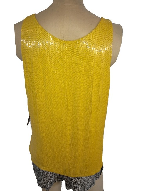 Ralph Lauren Blue Label Beaded Top Yellow