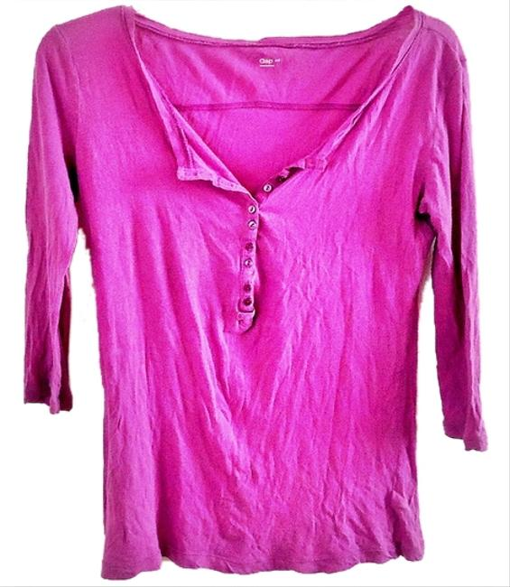 Gap Cotton T Shirt purple