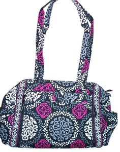 9122e3d2ca47 ... Vera Bradley Make A Changing Pad Canterberry Magenta Black Gray Cotton  Diaper Bag - Tradesy info ...