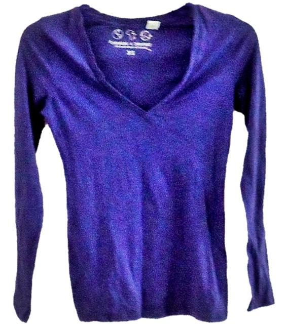 Threads 4 Thought Cotton T Shirt purple