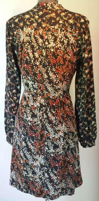 Anthropologie short dress Floral Size 10 Silk on Tradesy