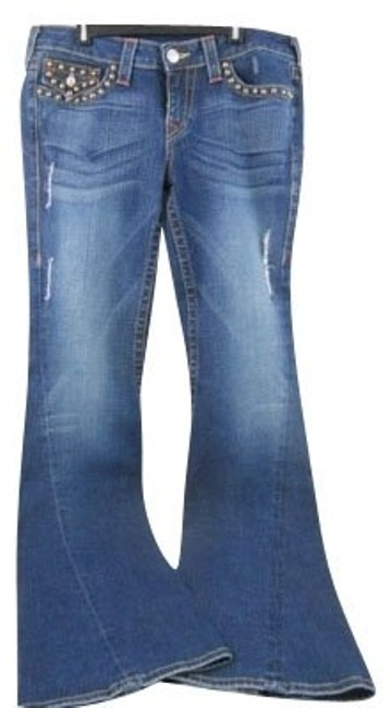 Preload https://item2.tradesy.com/images/true-religion-flare-leg-jeans-size-32-8-m-446-0-0.jpg?width=400&height=650
