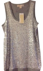 Michael Kors Top Silver
