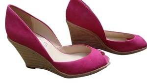 Michael Kors Suede Comfortable Unworn pink Wedges