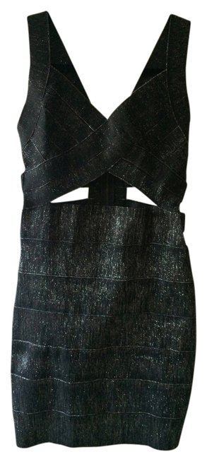 Other Silver Bandage Dress