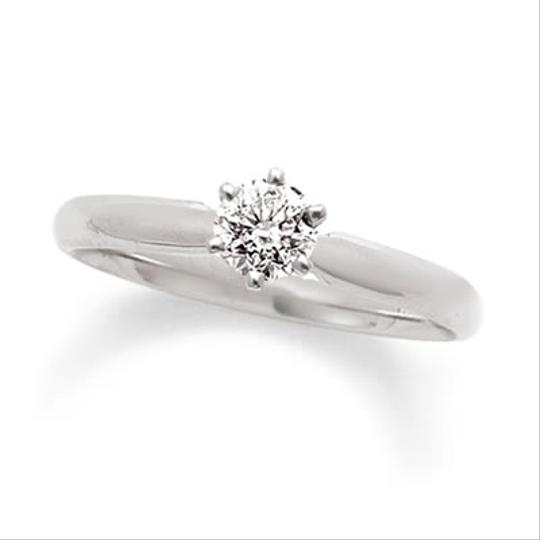 Preload https://item2.tradesy.com/images/zales-14-ct-diamond-solitaire-engagement-ring-in-14k-white-gold-4474906-0-0.jpg?width=440&height=440