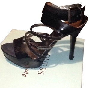 Guess By Marciano Black multi patent Platforms