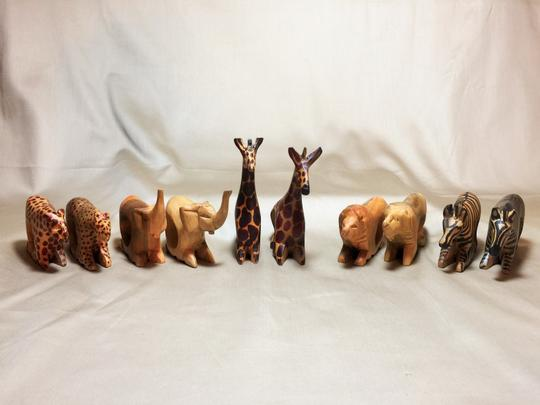Other Serengeti Napkin Rings; Set of 8 [ SisterSoul Closet ]