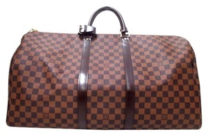 Louis Vuitton Neverfull Damier Brown Travel Bag
