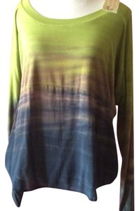 Green Dragon Ombre Modal T Shirt green