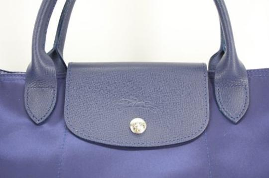 Longchamp Pliage Tote in Blue