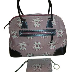 Dooney & Bourke Satchel in burgandy