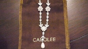 Carolee Ariel Crystal And Pearl Y Necklace