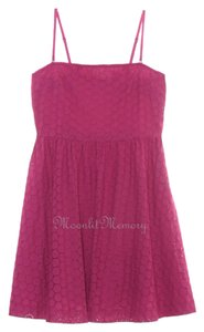 Garnet Hill Eyelet New Without Tags Pink Dress