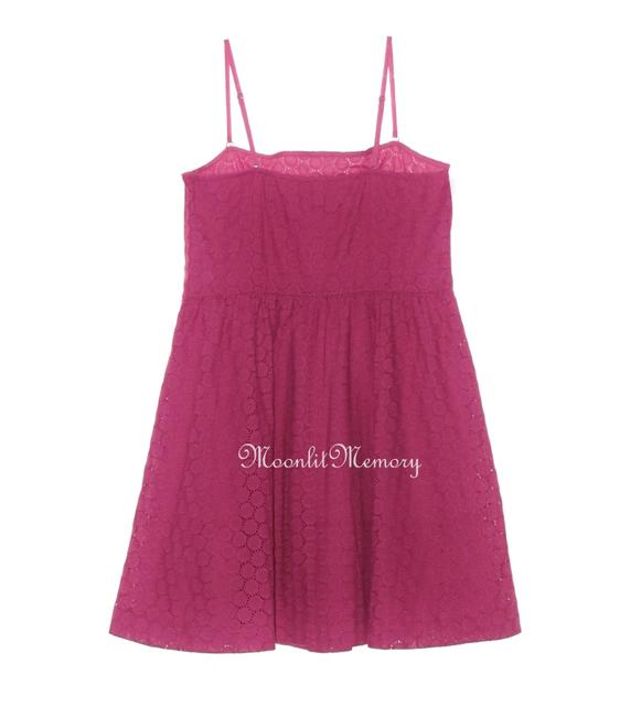 Garnet Hill Eyelet New Without Tags Sundress Flared Dress