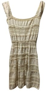 Max Studio short dress Cream on Tradesy