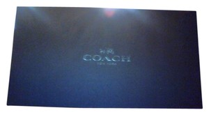 Coach Shoe Box Tissue Paper Vintage Brown w/pamphlet Sandals