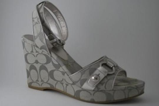 Coach Silver Wedges