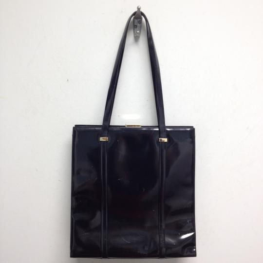 Gucci Patent Leather Vintage Shoulder Bag