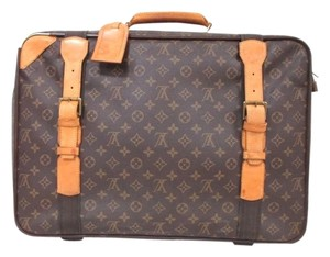 Louis Vuitton Travel Case Suit Case Case Travel brown Travel Bag