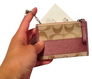 Coach Coach Signature Card Holder
