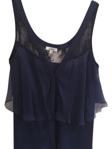 Issho short dress Navy on Tradesy