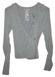 Design History Barney's New York New With Tags Wrap Sweater