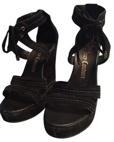 Preload https://item2.tradesy.com/images/juicy-couture-black-wedges-4479721-0-0.jpg?width=440&height=440