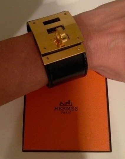 Hermès Hermes Bracelet Black Leather
