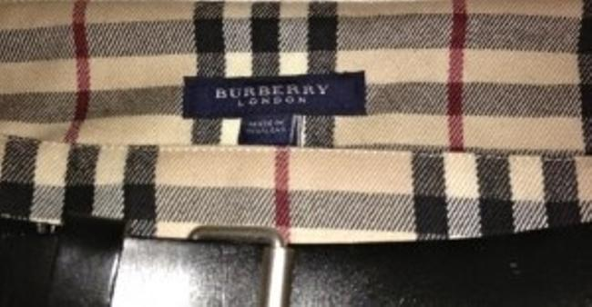 Burberry Mini Skirt Tan novo plaid