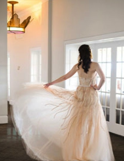Monique Lhuillier Other Tulle Candy Wedding Dress Size 4 (S)