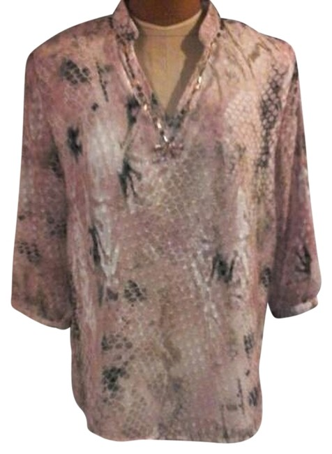 Alfred Dunner Womans Clothing Tradesy Top pink