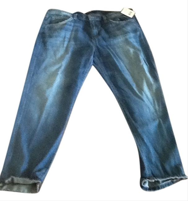 JOE'S Distressed Blue 31 Waist Ladies Relaxed Fit Jeans-Distressed