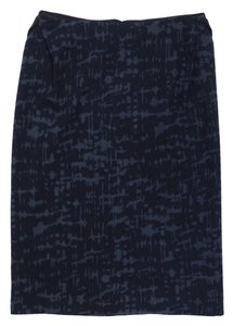 Bottega Veneta Print Wool Pencil Skirt