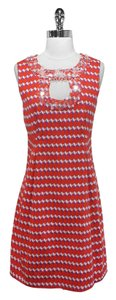 Nanette Lepore short dress Geo Print Geo Print Cotton on Tradesy