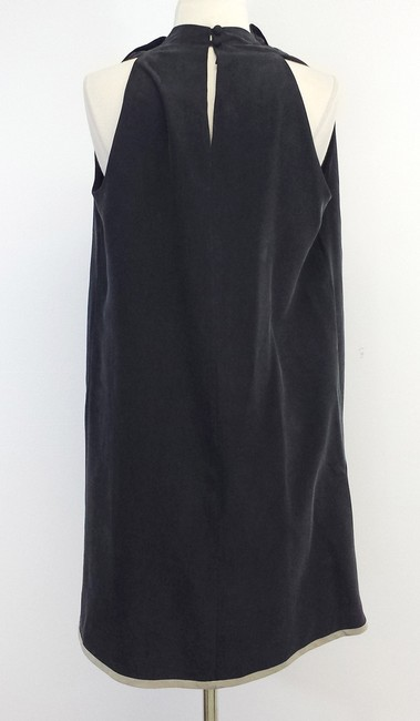 MARTIN GRANT Silk Sleeveless Shift Dress
