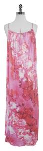 Maxi Dress by Oscar de la Renta Floral Print Maxi