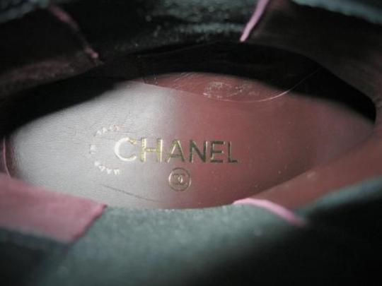 Chanel Iconic Stretch Black Boots