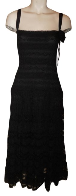 Preload https://item3.tradesy.com/images/max-studio-black-stretch-lace-mid-length-formal-dress-size-12-l-4494067-0-0.jpg?width=400&height=650