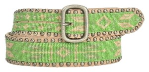 HTC Hollywood Trading Company Brand New HTC Hollywood Trading Company Leather Studded Belt Size 95