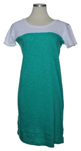 Nicole Miller short dress Emerald Green Cotton on Tradesy