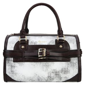 Sapsucker Satchel in White