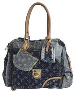 Louis Vuitton Denim Monogram Shoulder Bag