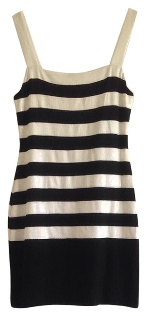 Bailey 44 short dress Black & White on Tradesy
