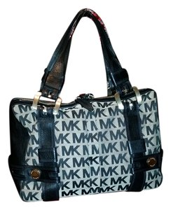 Michael Kors Satchel in Black and Gray