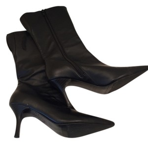 Charles by Charles David Boot Thin Heel Midcalf Black Boots