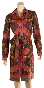 Dana Buchman short dress Brown/Multi Color on Tradesy