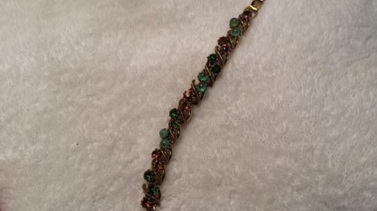 Other Stunning emerald and blue bracelet