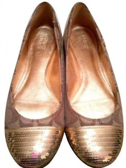 Coach Brown/tan Flats